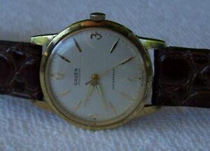 Vintage Mens Gruen Precision Watch Nice Watch & Runs