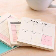 Cute Kawaii Weekly Monthly Work Planner Book Diary Agenda Filofax Dokibook For K