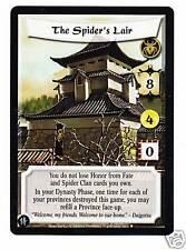 L5R SE Samurai Spiders Lair Stronghold full bleed
