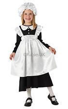 Fancy Dress Costume Book Week ~ Girls Victorian Maid Medium Age 5-6