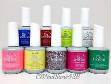 IBD Just Gel Polish-Set of any 9 bottles .5oz- Choose From Base/Top/Colors/Bond