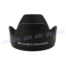 JJC Black Lens hood for OLYMPUS Zuiko Digital ED 14-42mm M.Zuiko 14-150mm LH-61C