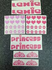 Personalised Pushchairs Stickers For Baby Toddler Stroller Pram Buggy Buzz Z