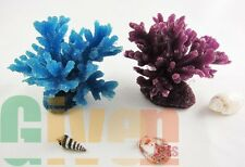 2xAquarium Fish Tank Silicone Sea Anemone Artificial Coral Ornament SH066