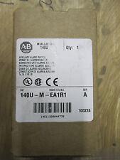 NEW ALLEN BRADLEY 140U-M-EA1R1 AUXILIARY ALARM SWITCH
