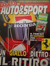 Auto & Sport ROMBO 15 1993 Dominio ALFA al DTM Mercedes - Brivido INDY Mansell