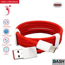 Genuine Dash rápido tipo C Cargador Datos USB cable plomo OnePlus 3 3 T 5 5 T 6