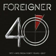 FOREIGNER 40: HITS FROM FORTY YEARS 2 LP VINYL ALBUM (New Release June 16 2017)