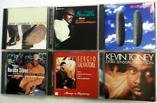 Lot Of 6 Modern JAZZ PIANISTS CD's Earl KLUGH Horace SILVER etc. #CD18