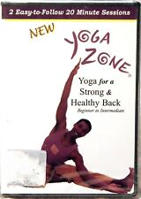 SEALED DVD Yoga Zone for a Strong  Healthy Back Beginner to Intermediate DV-6118