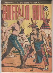 Australian Western Comic: Buffalo Bill #45 Transport Publishing 1954