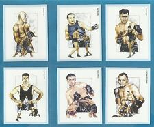 cigarette/trade cards - HEAVYWEIGHT BOXING CHAMPIONS - Full mint condition set.