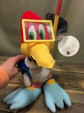 "RARE SCUBA Woody Woodpecker 14"" Plush Doll NWT Good Stuff Toys Universal Studios"