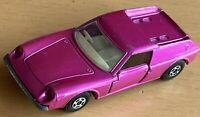 Matchbox Lesney Superfast No 5 Pink Lotus Europa - Wide Wheels - Near Mint