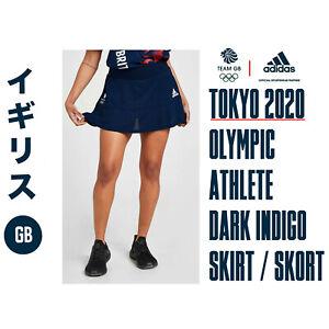 🇬🇧 ADIDAS TEAM GB TOKYO OLYMPICS ELITE ATHLETE TECH SKIRT / SKORT SIZE L 🇬🇧