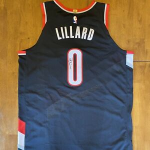 Damian Lillard Signed Autographed Authentic Team Issued Jersey Trailblazers