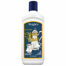Wright's Silver Cleaner and Polish - 7 Ounce - Use on Silver, Jewelry, Antique