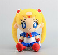 Anime Sailor Moon 12'' Cute Soft Plush Toy Doll For Kids