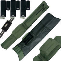 3+3 ECO ROD HOLDALL BAG FOR 3 RODS AND REELS + 3 SETS ROD BANDS NGT CARP FISHING
