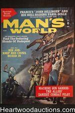 Man's World Aug 1962 Charles Copeland Cvr, Walter Popp, Earl Norem - Ultra High