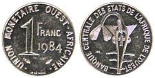 1 FRANC 1984 AFRICA DELL'OVEST WEST AFRICAN STATES #3885A