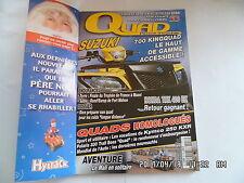 QUAD PASSION MAGAZINE N°53 11/2004 SUZUKI 700 KINGQUAD HONDA TRX 400 EX   H43