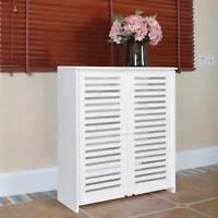Shoe Storage Cabinet Cupboard Footwear Rack Stand Wooden Sideboard Organizer