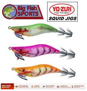"""YO-ZURI SQUID JIG Egi Aurie-Q """"RS"""" Sinking 2 1/4 inch Jig Squiding Lure #A1605"""