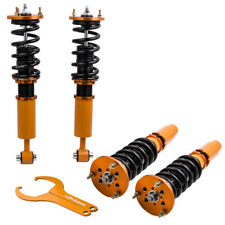 For BMW 5 SERIES E60 SALOON COILOVERS ADJUSTABLE SUSPENSION LOWERING SPRINGS KIT