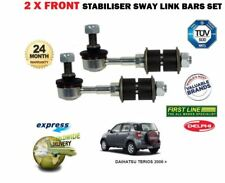 FOR DAIHATSU TERIOS 2006 > 2x FRONT LEFT & RIGHT STABILISER SWAY LINK BAR SET