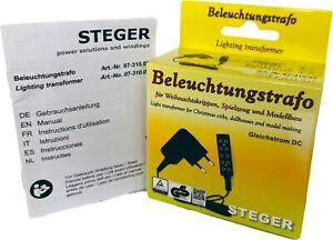 Steger Trafo mit Verteiler für Puppenhaus/Krippenbeleuchtung - 3,5/4,5V