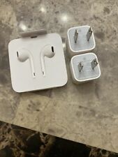 Apple Power Blocks Wall Charger New Apple Headphones Oem iPhone