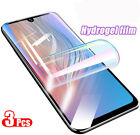 3-Pack HYDROGEL Film Soft Full Screen Protector For Samsung Note10 One Plus