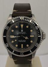 Rolex Vintage Submariner No-Date Matte Feet First Dial Circa 1971 5513