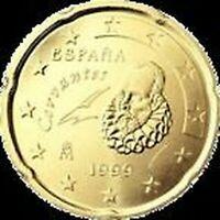 Spanien - Münze 20 Cents ' -
