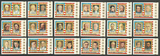 EQUATORIAL GUINEA 1976 US BICENTENARY PRESIDENTS KENNEDY LINCOLN NIXON SET MNH