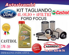 KIT TAGLIANDO FORD FOCUS 1.5 TDCI 88KW - 4 FILTRI + 4L OLIO CASTROL 5W30