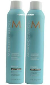 Moroccanoil Luminous Hairspray EXTRA STRONG 10 oz (PACK OF 2 ) New Same Day Ship