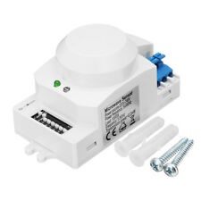 220V 1200W 5.8GHz Intelligent Microwave Radar Sensor Switch Photoelectric Sensor