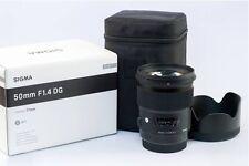 Sigma Single-Focus Standard Lens Art 50mm F1.4 DG HSM Full Size for Canon New
