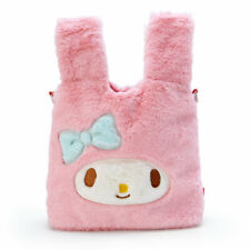 My Melody Fluffy Mini Tote Bag Handbag Purse Sanrio Japan Gift L907