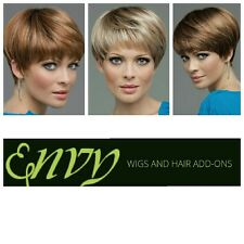 JO ANNE MONOTOP WIG BY ENVY WIGS  *YOU PICK COLOR * Free Shipping in US