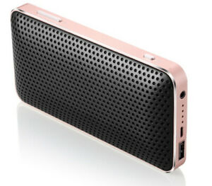 2 in1 Power Bank Bluetooth Speaker Wireless and Auxillary 2500 mAH Long Battery