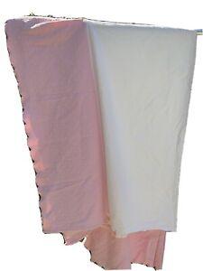 Pottery Barn Kids TWIN Pink Matelasse Bedskirt