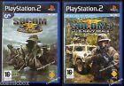 Lot SOCOM 1 + 3 US Navy Seals jeu de guerre console sony PlayStation 2 complets