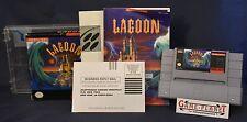 Lagoon NTSC Super Nintendo SNES OVP  RPG Rollenspiel