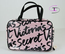 NWT VICTORIA'S SECRET FASHION SHOW TRAVEL COSMETIC BAG MAKEUP BAG CB 3