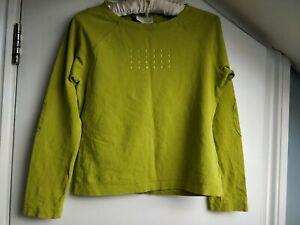 LIZ CLAIBORNE LADIES Green Top, Size S