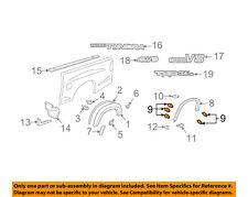 TOYOTA OEM Tundra Pick Up Box Bed-Wheel Fender Flare Molding Retainer 753920C090