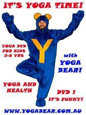 Yoga Bear Fun Kids Yoga DVD1 - It's Yoga Time!!